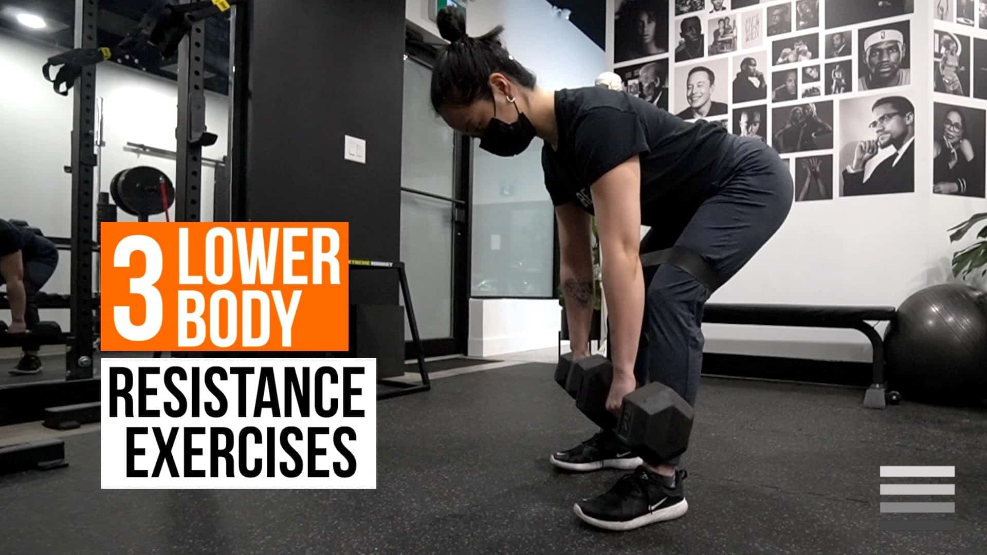 3 Lower Body Resistance Exercises
